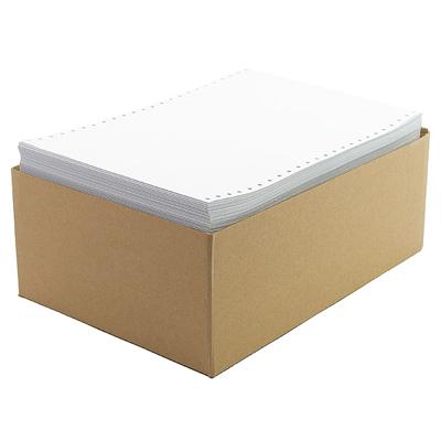 Бумага перфорированная фальцованная 210мм, 45г/м2, 1700л