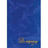 Папка До підпису А4+ балакрон (синій)