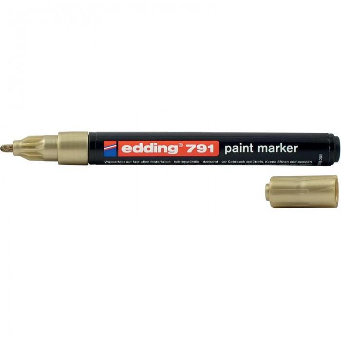 Лак-маркер Paint (золотий) E-791/12
