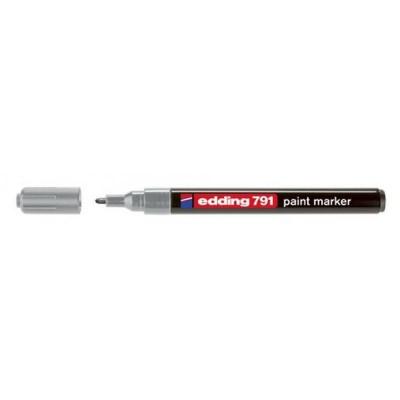 Лак-маркер Paint (серебряный) E-791/13