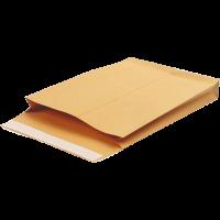 Конверт В4 самоклеючий з розширенням  крафт  (50шт/уп)