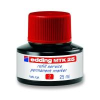 Чернила для заправки перманентных маркеров (красный) E-MTK25/02