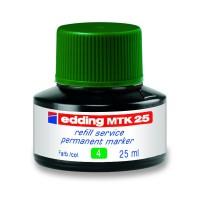 Чорнило для заправки перманентних маркерів (зелений) E-MTK25/04