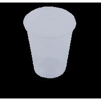 Стакан одноразовий термостійкий 180мл. 100шт/уп