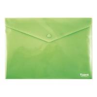 Папка на кнопці А4 непрозора (зелений) 1412-25-A
