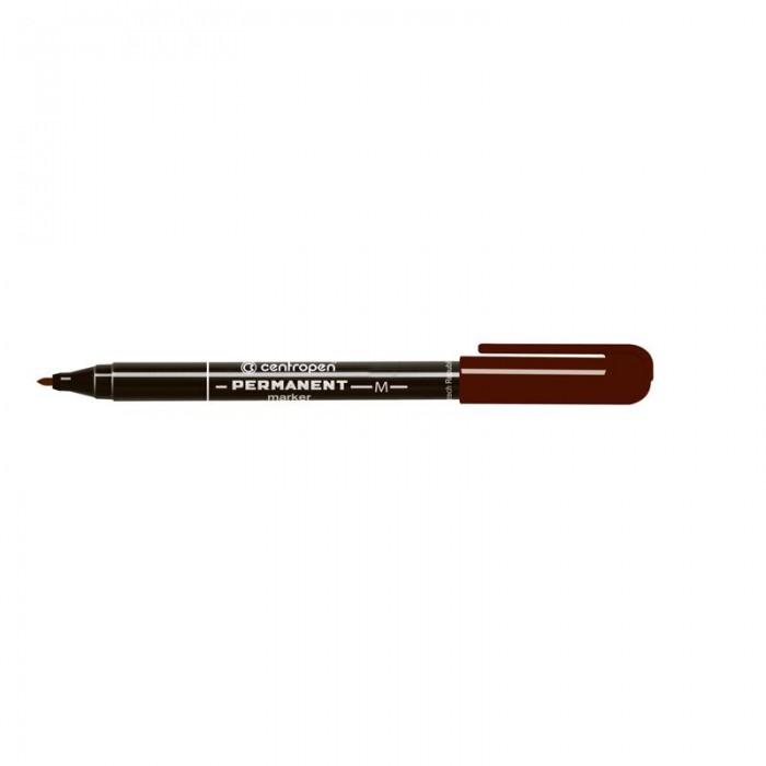 Маркер перманентний Permanent (коричневий) 2846/07