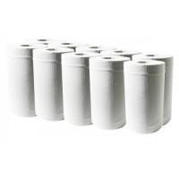Полотенца рулонные BASIC MINI Р 1433 белые (12 рулонов)