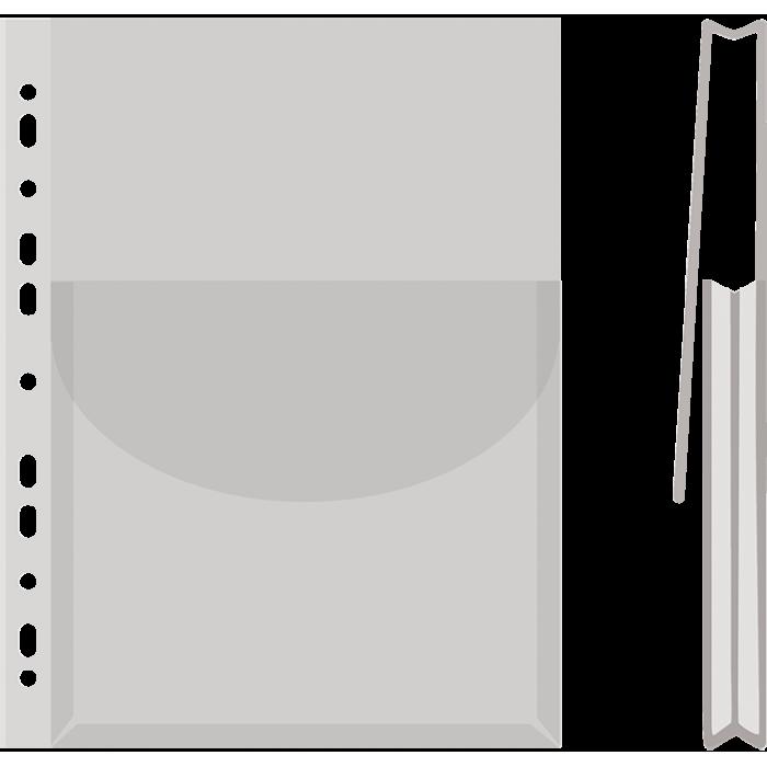 Файл глянцевий з клапаном для каталогів А4 (170мкм) 1775001PL-00