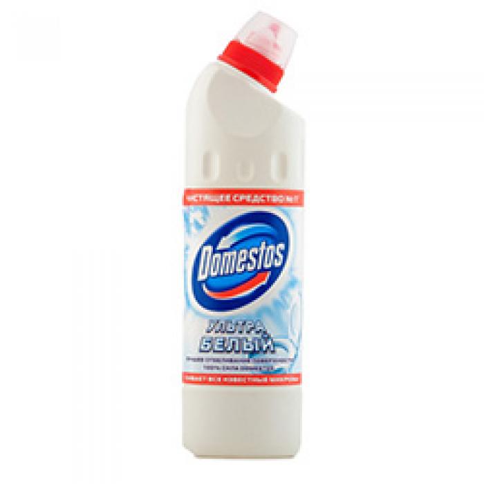 DOMESTOS чистящее средство 500мл Ультра белый