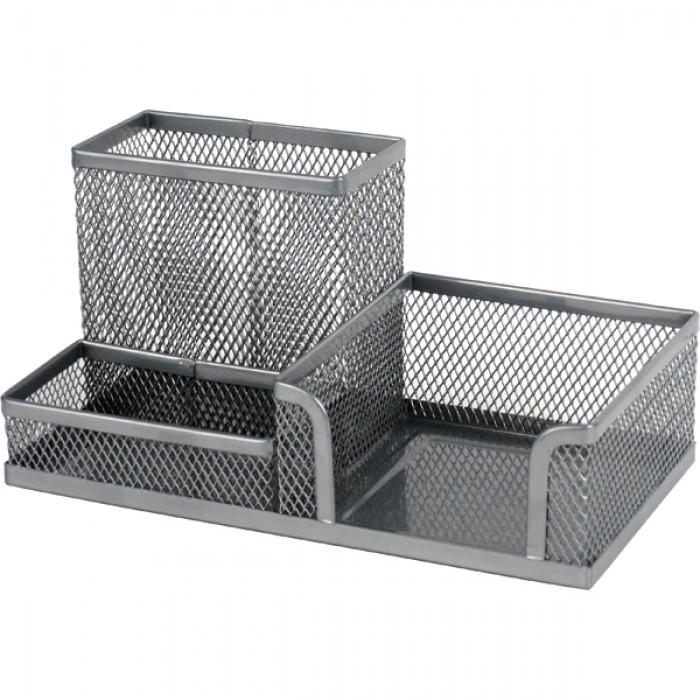Подставка-органайзер (серебряный) 2116-03-A
