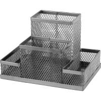 Подставка-органайзер (серебряный) 2117-03-A