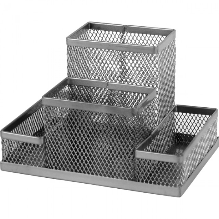 Підставка-органайзер (срібний) 2117-03-A