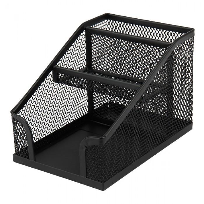 Подставка-органайзер (черная) 2118-01-A