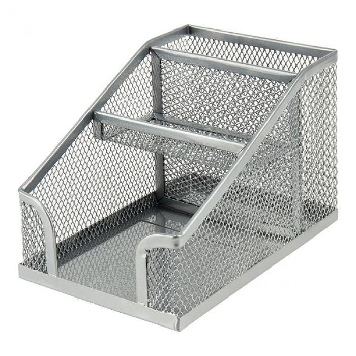 Подставка-органайзер  (серебряная)  2118-03-A