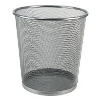 Корзина для паперів кругла (срібний)  2119-03-A