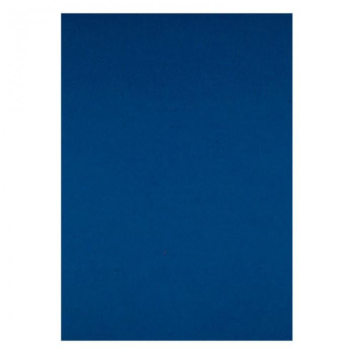 """Обкладинки картонні """"під шкіру"""" А4, 250мкм. (синій) 50шт. 2730-02-A"""