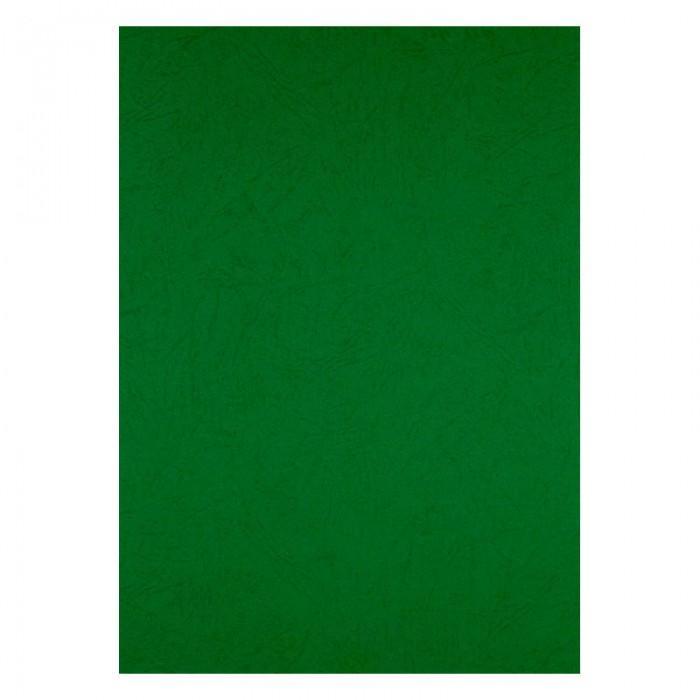"""Обкладинки картонні """"під шкіру"""" А4, 250мкм. (зелений) 50шт. 2730-04-A"""