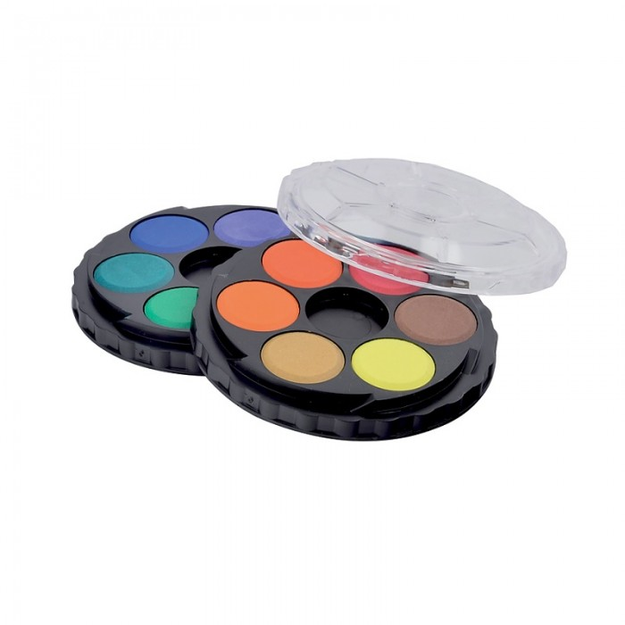 Акварель (12 кольорів, пластикова коробка) 171503