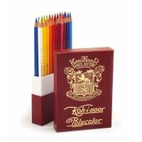 Олівці кольорові художні Polycolor Retro (24 кольори)  3824024020ТК