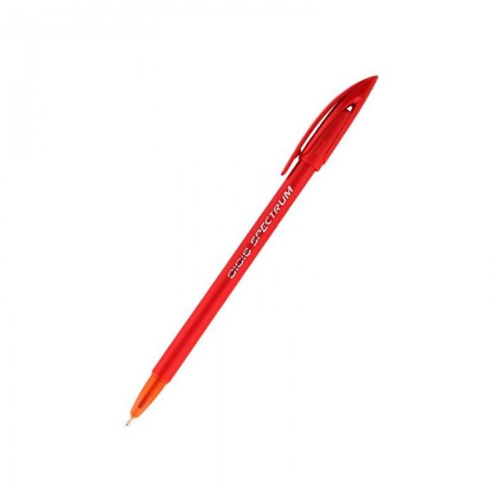 Ручка кулькова Spectrum (червоний) UX-100-06