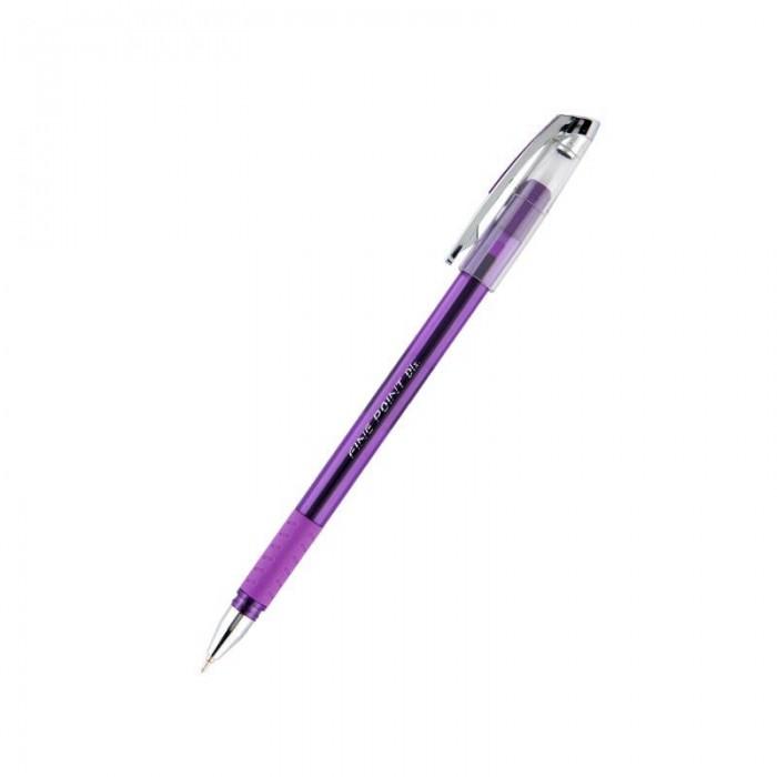 Ручка кулькова Fine Point DLX (фиолетовый) UX-111-11 (12 штук)