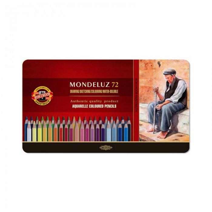 Карандаши акварельные Mondeluz подарочные (72 цвета) 372707