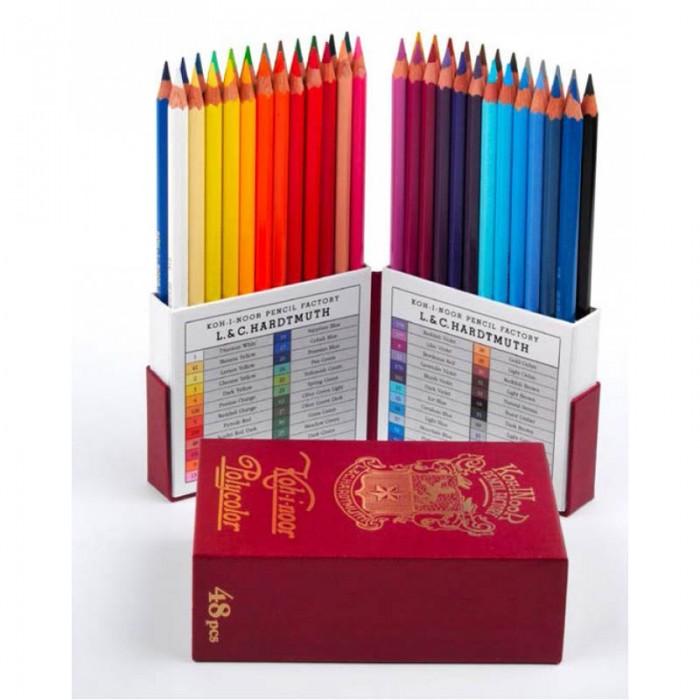 Олівці кольорові художні Polycolor Retro (48 кольорів)  3826048020ТК