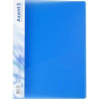 Папка-скоросшиватель А4 (прозрачный синий) 1304-22-A