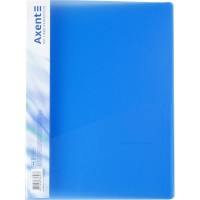 Папка-швидкозшивач А4 (прозорий синій) 1304-22-A