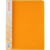 Папка-швидкозшивач А4 (прозорий помаранчевий) 1304-25-A