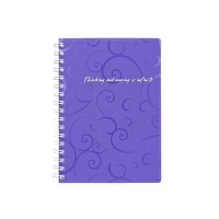 Тетрадь для записей А6  Barocco  (фиолетовый) bm.2589-607