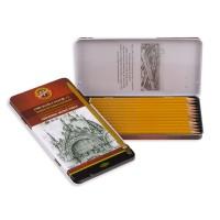Набор графитных карандашей Technic (12шт)  1502.І