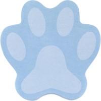Блок бумаги с клейким слоем Paw голубая 70x70 мм, 50 л.