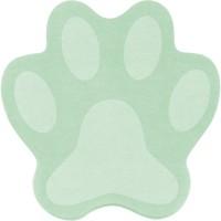 Блок бумаги с клейким слоем Paw зеленая, 70x70мм, 50 л.