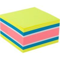 Блок паперу з клейким шаром 75x75 мм,450 арк,асорті-1