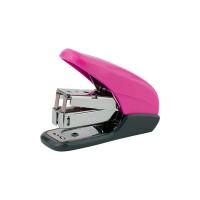 Степлер Shell PS пластиковый (24/6) розовый 4841-10-A