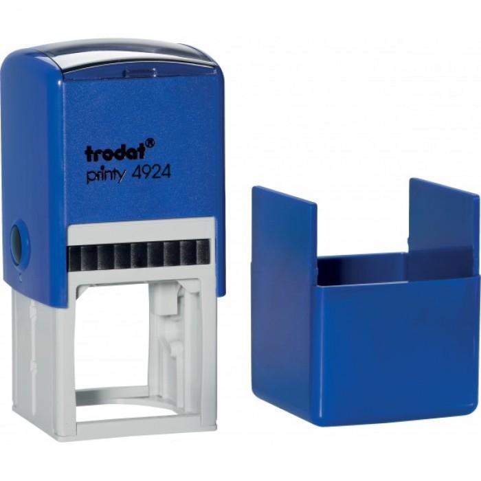 Оснастка для круглой печати Trodat, диам 40 мм, пластик, синий