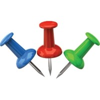 Кнопки канцелярские