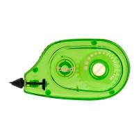 Коректор стрічковий (зелений корпус) 7009-04-A