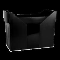 Картотека для подвесных файлов пластиковая (черный) 7421001-01