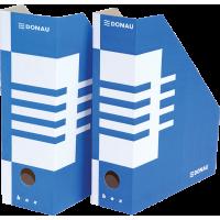 Накопичувач для паперів 100мм (синій) 7648001PL-10