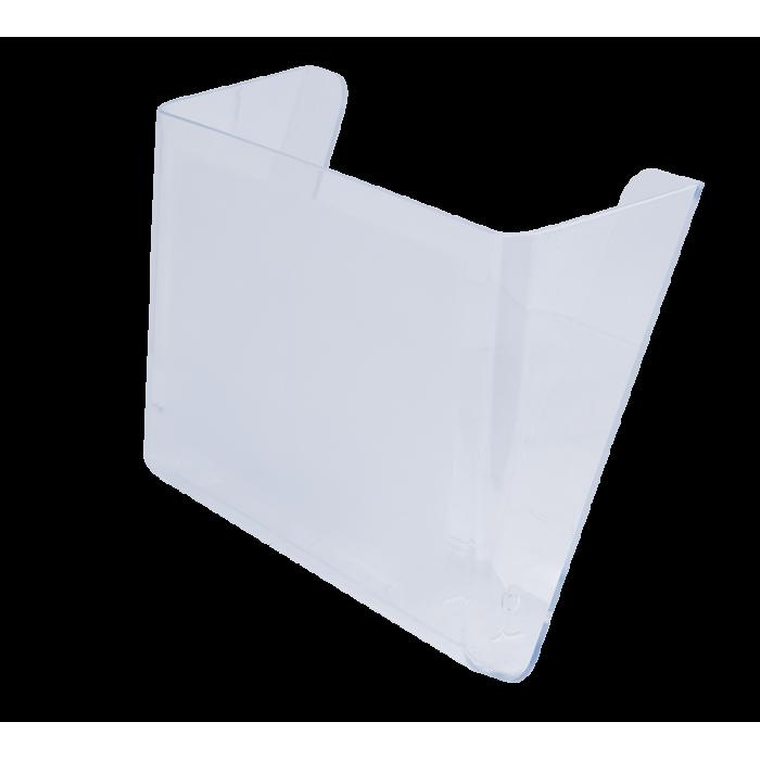 Лоток вертикальный настенный (прозрачный) 80702
