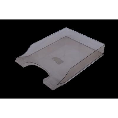 Лоток горизонтальный Симетрия (дымчатый) 80801