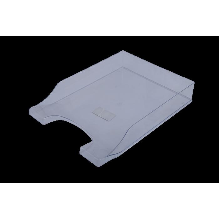 Лоток горизонтальный Симетрия (прозрачный) 80802