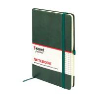 Книга записна Partner Lux 125х195мм (зелений/клітинка) 8202-04-A