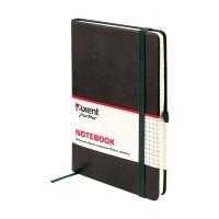 Книга записна Partner Lux 125х195мм (чорний/клітинка) 8202-01-A