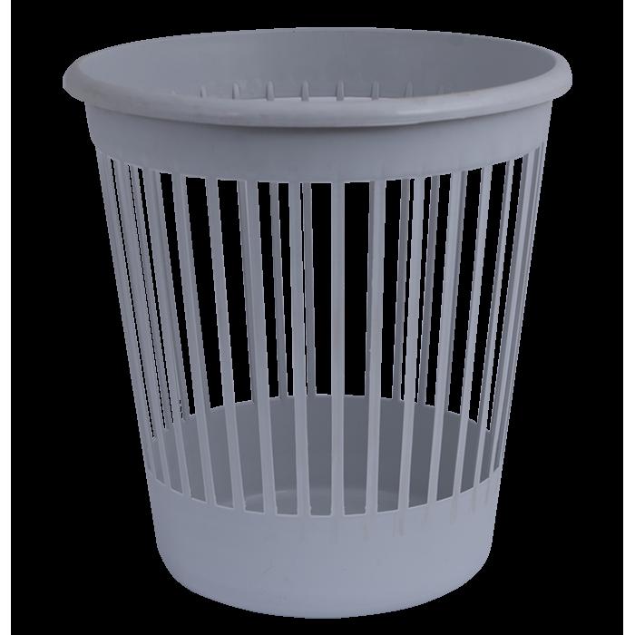 Кошик для сміття з прорізами (сіра) 82060