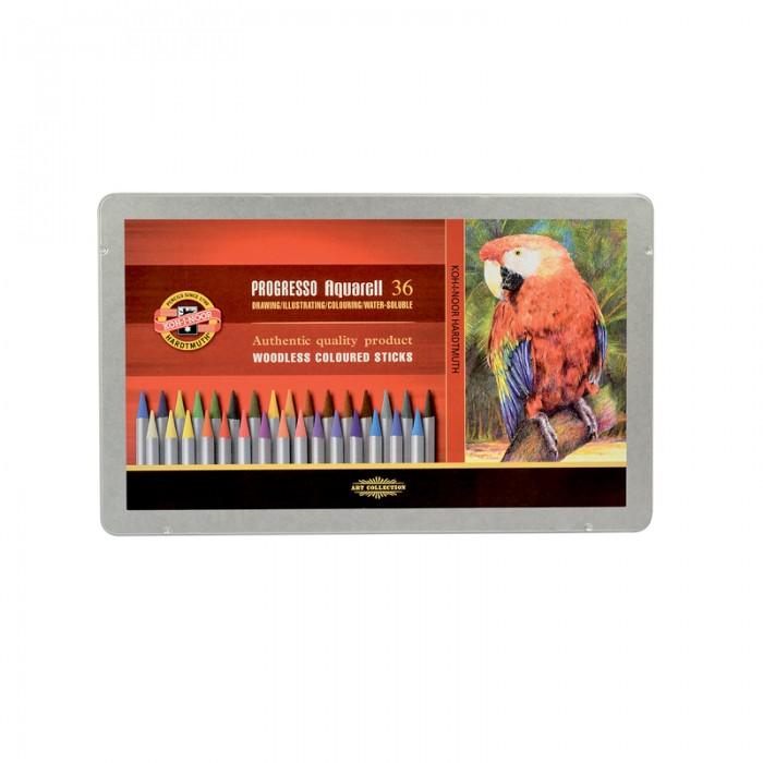 Олівці акварельні Progresso подарункові (36 кольорів)  8785