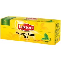 Чай Lipton Yellow Label (2г.х25п) черный