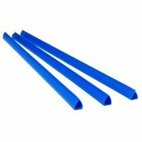 Планка-зажим 10мм. 100шт. (синий) 1405093